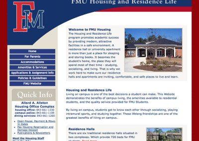 Francis Marion University Housing & Residence Life