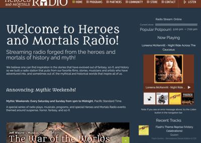 Heroes and Mortals Radio