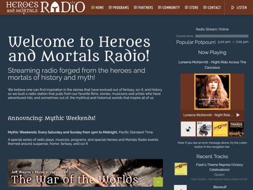 Heroes and Mortals Radio